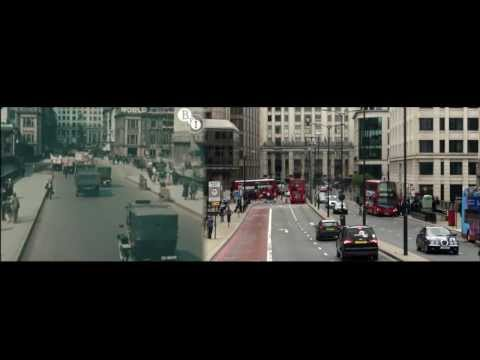 London in 1927 & 2013