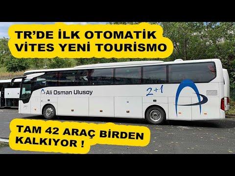 Tam 42 Otobüs Birden Kalkıyor ! TR'DE İlk Otomatik Vites Tourismo (Yeni)