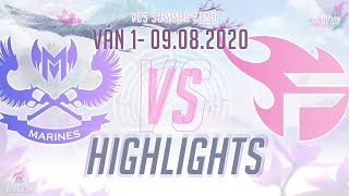 Highlights GAM vs FL [Ván 1][VCS 2020 Mùa Hè][09.08.2020]