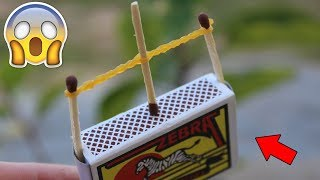 4 Interesting Tricks with Matches !