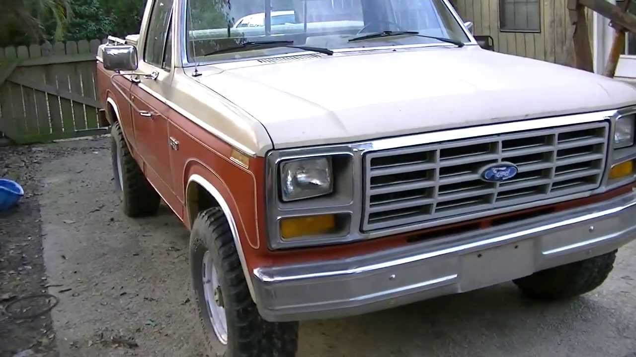 1983 Ford F150 4x4 Part 2 Youtube
