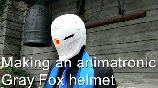 Making a motorized Gray Fox Helmet (Metal Gear Solid)