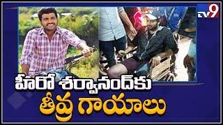 Hero Sharwanand injured in Bangkok Shooting..