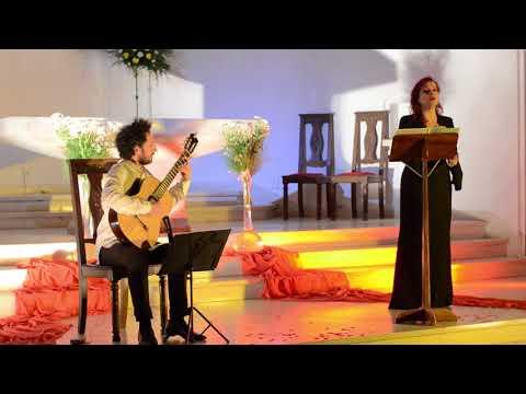 Vivianna Giannaki & Mariano Gil - `Acherombasman` (cypriot medieval traditional) Iglesia Nuestra Señora de la Paz. Pinamar - Argentina (2017)