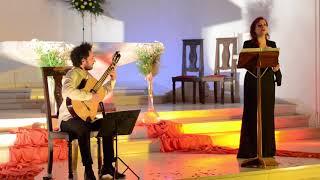 Vivianna Giannaki - Mariano Gil - `Acherombasman` (cypriot medieval traditional) Iglesia Nuestra Señora de la Paz. Pinamar - Argentina (2017)