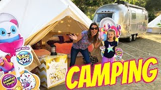 FANCY CAMPING With Moose Toys ❤️ Glamping For The First Time + Pikmi Pops Tent