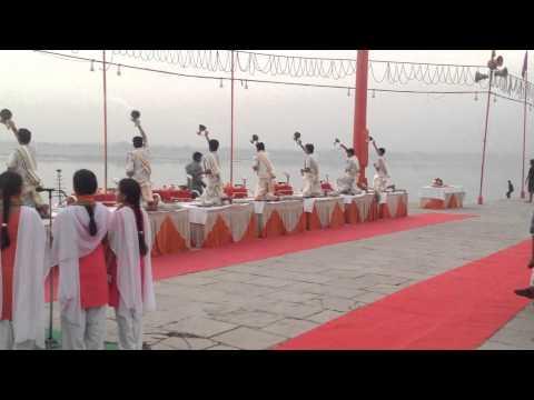 Ganga Aarti Assi Ghat Varansi India  3