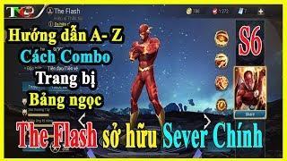 Liên quân mobile The Flash Hiệp sĩ thần tốc | hướng dẫn Combo lên trang bị và bảng ngọc