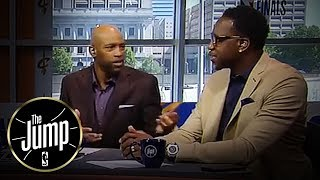 Vince Carter Still Emotional About Accidently Injuring Patrick McCaw | The Jump