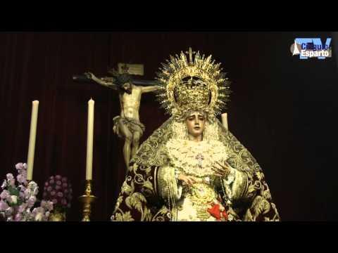 Besamanos de la Virgen del Refugio de San Bernardo