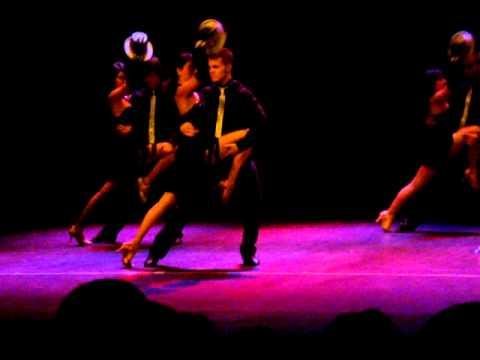 baile de salon TANGO MILONGA DE AMOR teatro castelar 2010