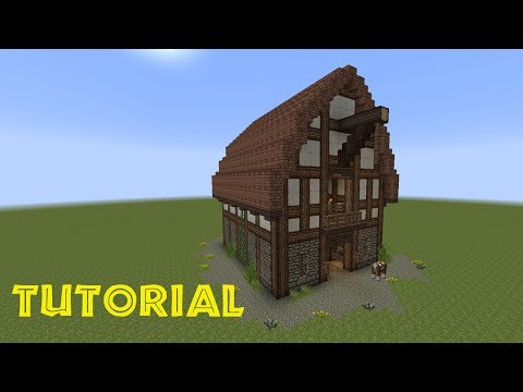 Minecraft tutorial eine scheune bauen musica movil for Kleines minecraft haus