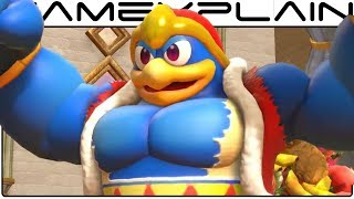 Kirby: Star Allies - Check Those Pecs in Swole Dedede's Boss Intro