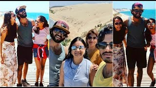 Vijay Devarakonda enjoying summer tour in France with fami..