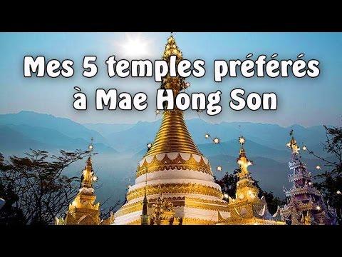 mes 5 temples préférés à mae hong son