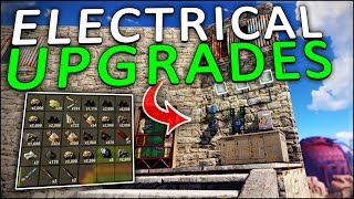 UPGRADING my BASE with ELECTRICITY! - Rust Solo #8