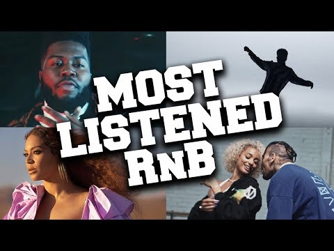 Top 50 Most Listened R&B Songs in July 2019