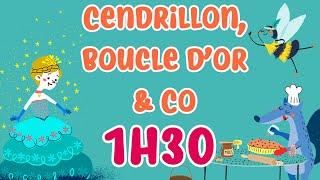 Henri Dès & Co - Cendrillon, Boucle d'Or et autres contes pour enfants - 1h30 d'histoire pour enfant