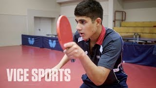 America's Ping Pong Prodigy: The 16 Project
