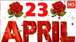 23 April Special New Birthday Status Video , happy birthday wishes, birthday msg quotes जन्मदिन
