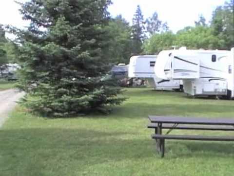 Accommodations at Bare Oaks Family Naturist Park