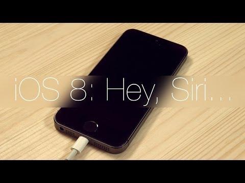 iOS 8: Hey, Siri