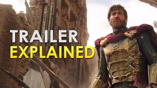 Spider-Man: Far From Home: Official Trailer Explained | MARVEL BREAKDOWN