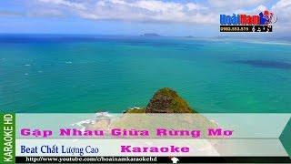 Karaoke Gặp Nhau Giữa Rừng Mơ