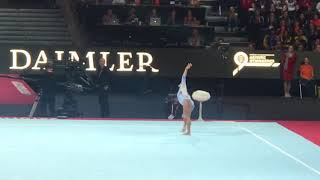 Simone Biles floor 2019 World Gymnastics Championships