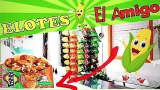Deliciosos Tostitos Preparados con 🌽 ELOTES El Amigo