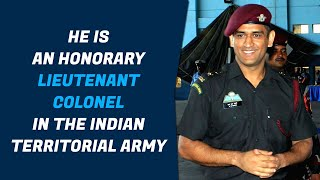 MS Dhoni Joins Indian Army Parachute Regiment- Exclusive..