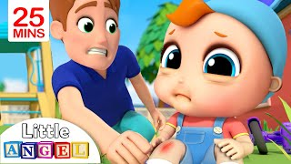 /baby has a boo boo more nursery rhymes kids songs by little angel