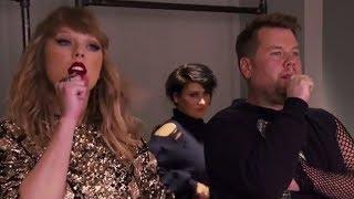 James Corden Becomes Taylor Swift's NEW Back-Up Dancer