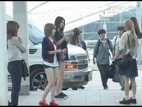 [SSTV] 소녀시대-에프엑스, 소녀들의 공항패션 '이것이 걸그룹 스타일'