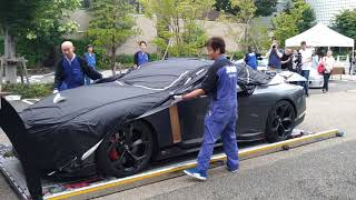 GT-R50 by Italdesign Delivery   搬入 Part1