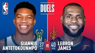 Duel In The Land: King James vs The Greek Freak!