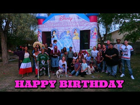 I Gave My Daughter The Best 6th Birthday Party Ever!
