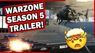 WARZONE SEASON 5 OPENING CINEMATIC VIDEO - SHADOW COMPANY BLOW UP STADIUM