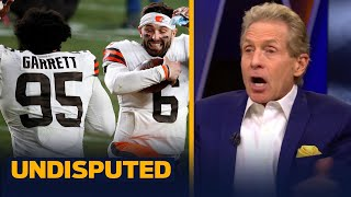 Baker's Browns 'flipped the switch' on Steelers to end playoff drought — Skip | NFL | UNDISPUTED