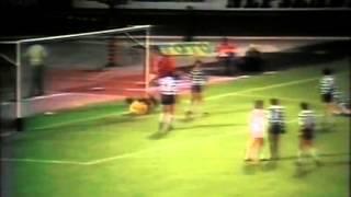 Honvéd - 1 x Sporting - 0 de 1980/1981 Taça dos Campeões Europeus