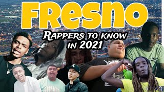 FRESNO RAPPERS TO KNOW IN 2021