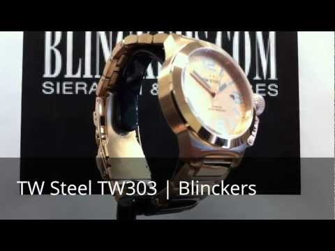 Horloge productvideo TW Steel TW303 | New Canteen | Blinckers.com
