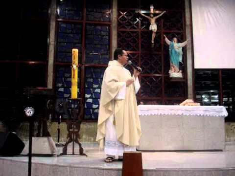 Baixar Homilia -padre Daniel Vigário Episcopal (Região Nossa senhora da Conceição).MPG