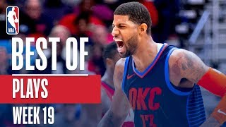 NBA's Best Plays | Week 19