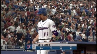 MLB 18 The Show part 43 game 55 and 56 of minor league the 2 missing games