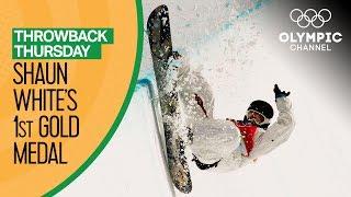 Shaun White's Gold Medal Run at the Turin 2006 Olympics | Throwback Thursday
