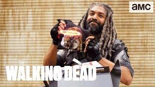 King Ezekiel Unboxes The Walking Dead Supply Drop!