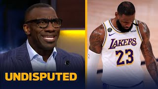 Skip & Shannon react to LeBron & the Lakers experiencing fatigue in the bubble | NBA | UNDISPUTED
