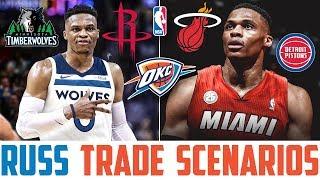 Russell Westbrook Trade Rumors, Scenarios & Predictions (Russell Westbrook Rockets Trade)