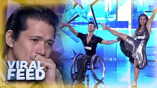 INSPIRING Dancing Duo Don't Let Disability Get In Their Way | VIRAL FEED